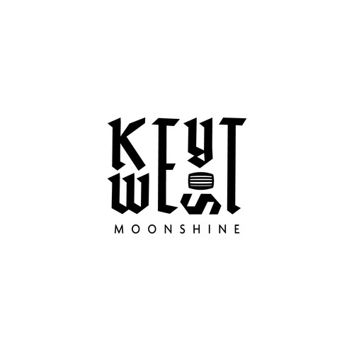 KEY WEST MOONSHINE / LOGO DRAFT