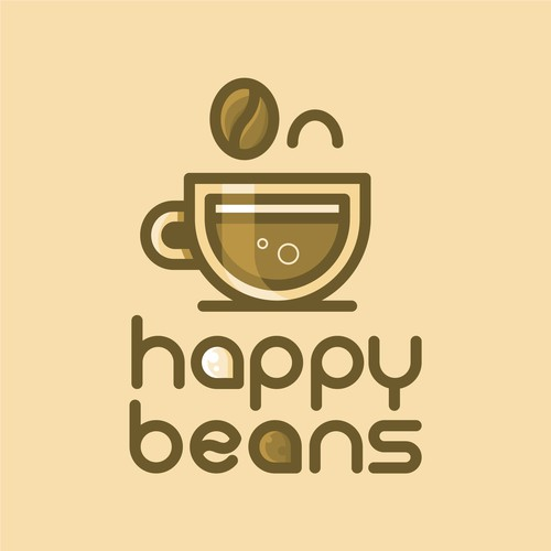 Logo for Happy Beans