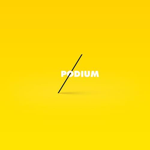 Podium Logo - Music