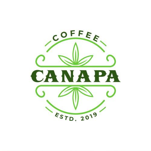 CBD Infused Coffee Logo Proposal
