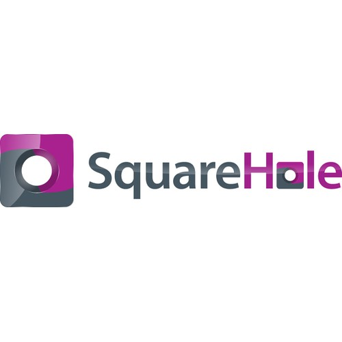 Help The name of the company is Square Hole, something very manly , a animal or some cool looking symbol with a new logo