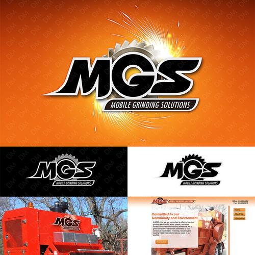 MGS logo design