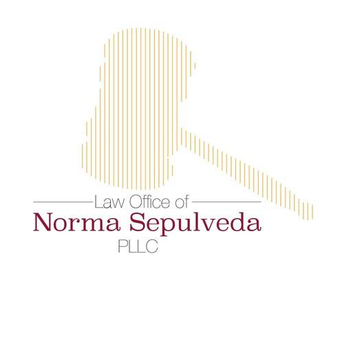Modern logo for law firm