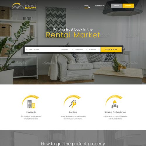 Website Design for FlatSavvy