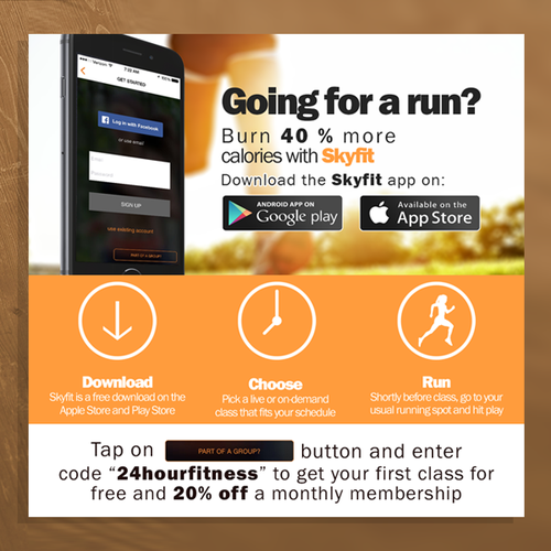 Skyfit app