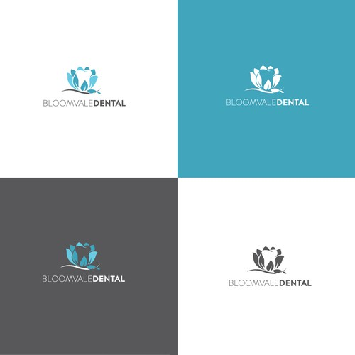 Logo design for Bloomvale Dental