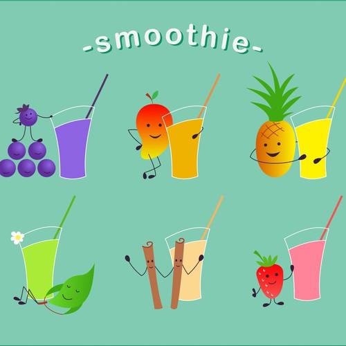 Simple Smoothie illustration