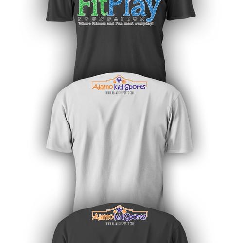 Create a Shirt for Future Sports Stars (ages 3-7) for Alamo KidSports
