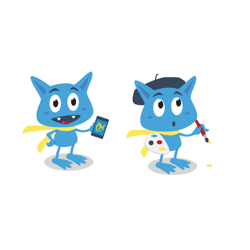 Social Media Mascot