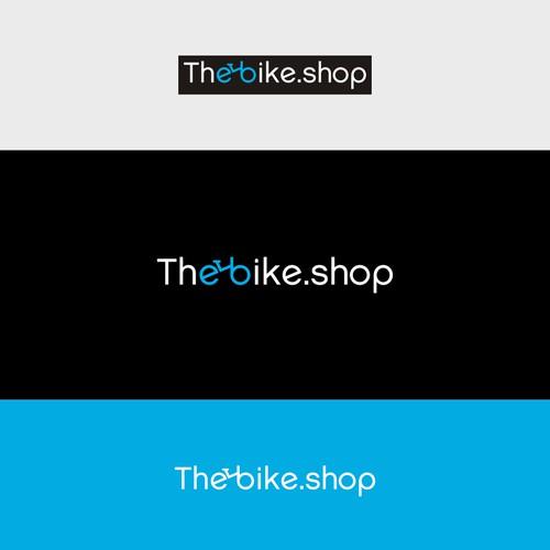 The Bike Shop logo design
