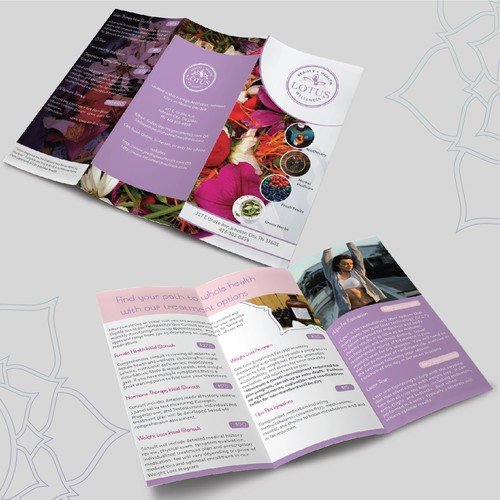 Health & Wellness Brochure Design