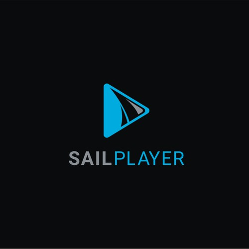 simple and literal design concept for Sail Player