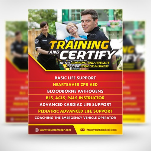 Poster for Training & Certify