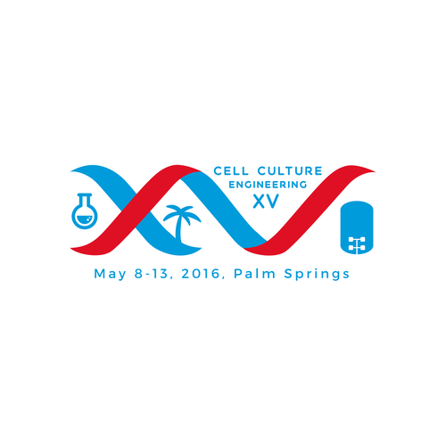 Logo for BioPharmaceutical conference.