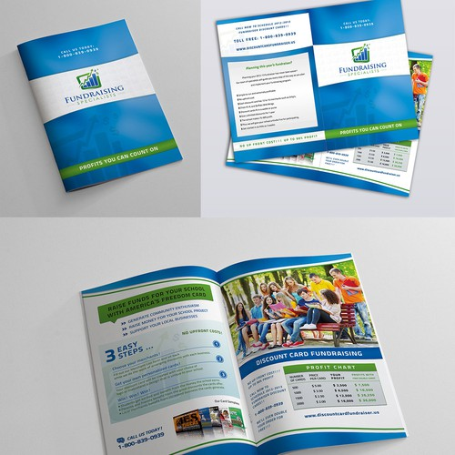 Brochure design for Fundraising Specialists, Inc.