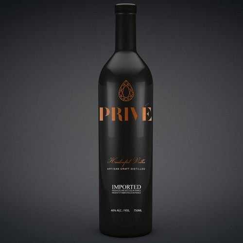 Premium  PRIVE Handcrafted Vodka