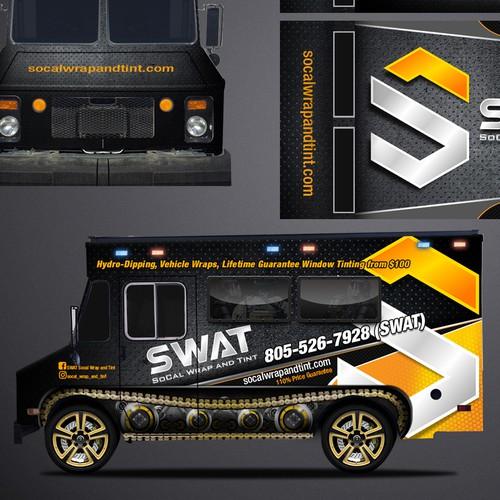 SWAT style truck design