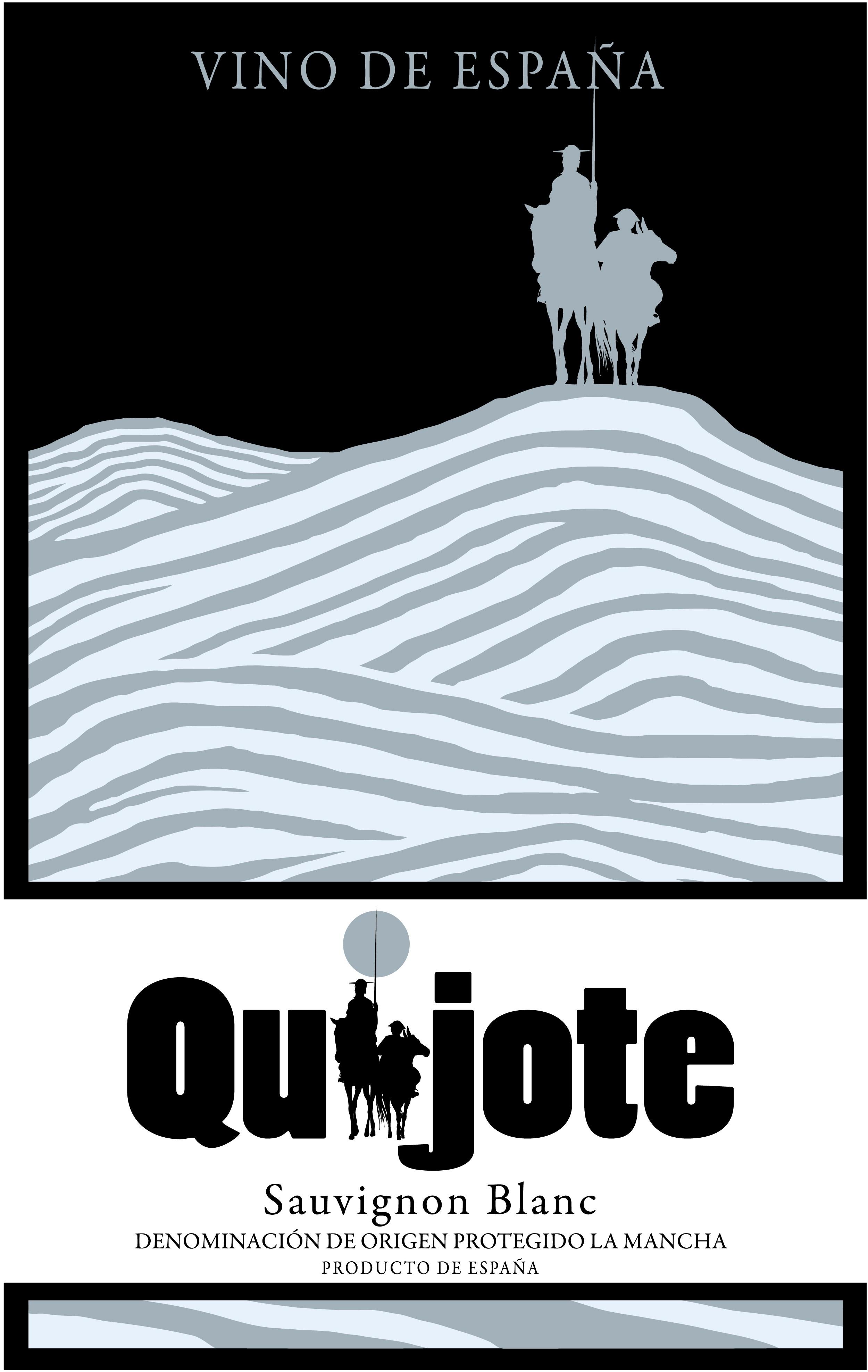 Quijote wine labels