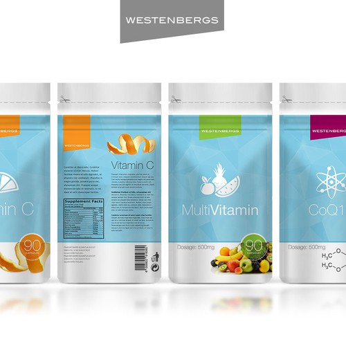 *guaranteed contest* Create a winning label design for new vitamin brand