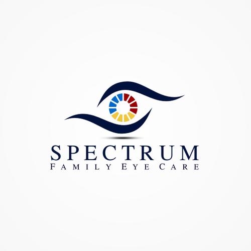 logo for Spectrum Family Eye Care