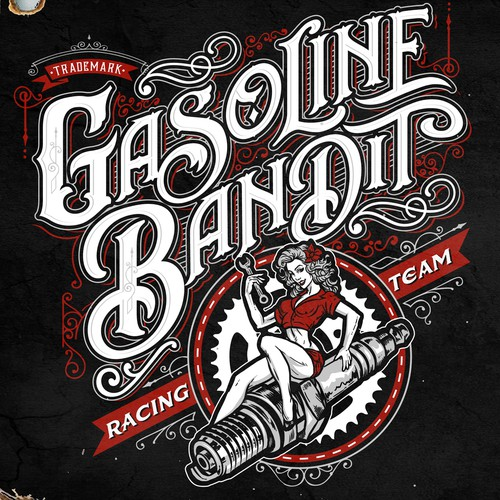 T-shirt for Gasoline Bandit