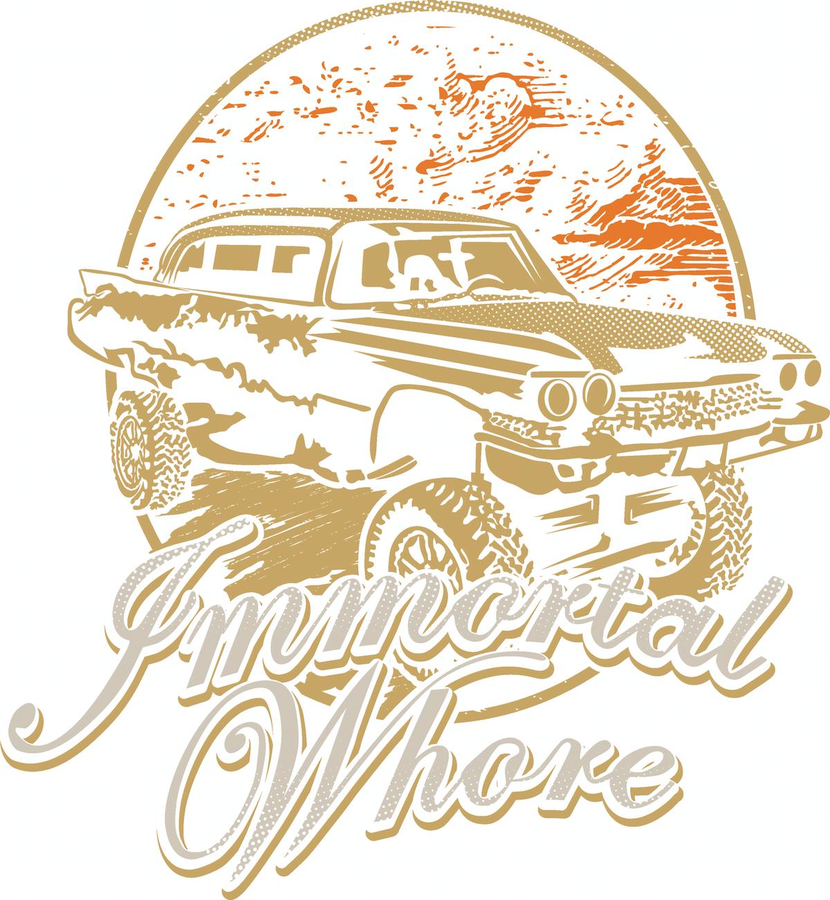 Immortal Whore t-shirt Design