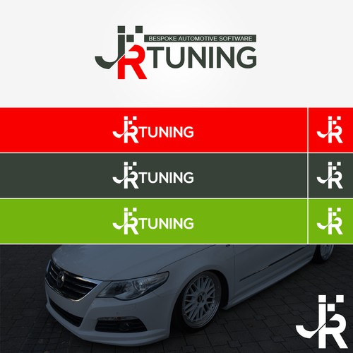 Automotive tuning logo