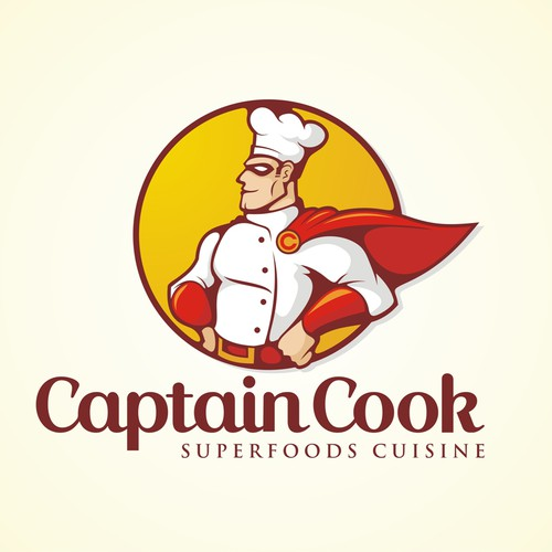 """Be the creator of the next """"Red Bull-like"""" restaurant Logo: Captain Cook Resto"""