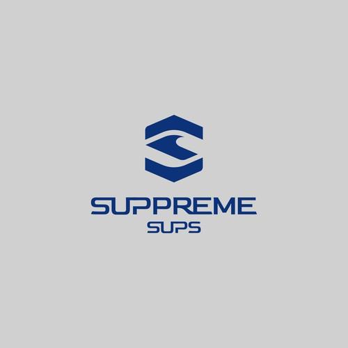 SUPPREME-SUPS logo design