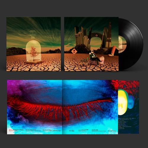 """Ethiva """"Sublime Island"""" album artwork. Clostridium Records"""