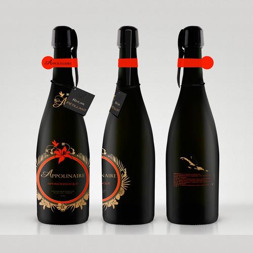 Luxury design for Appollinaire - sparkling rum