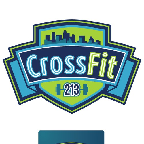 Create the next logo for CrossFit 213