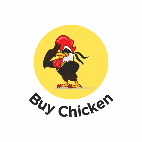 modern logo for buy chicken