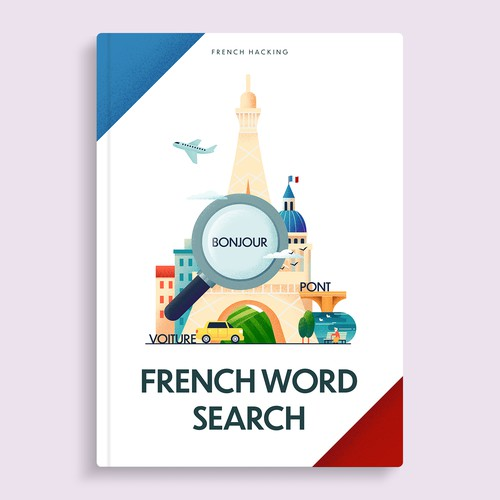 French Word Search Book Cover
