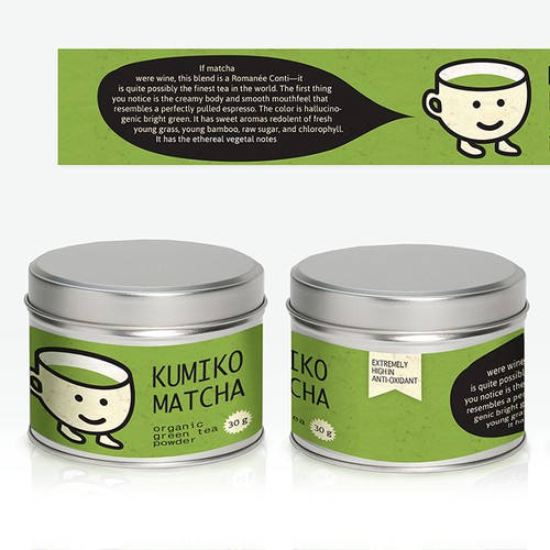 WANTED: 1 Tea Label Design - FAST FEEDBACK - Quick Project