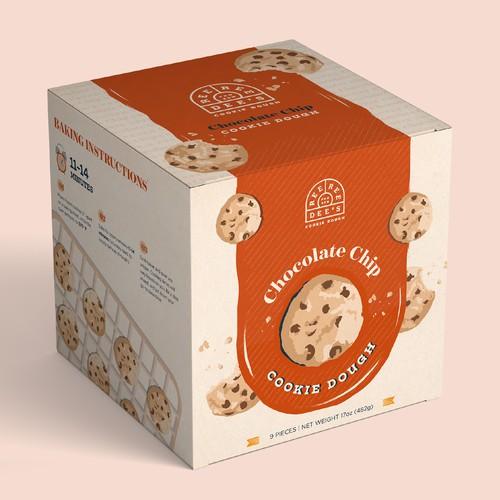 Ree Ree Dough Cookie Packaging Design