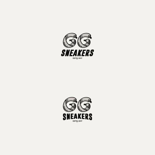 logo concept for GG Sneakers
