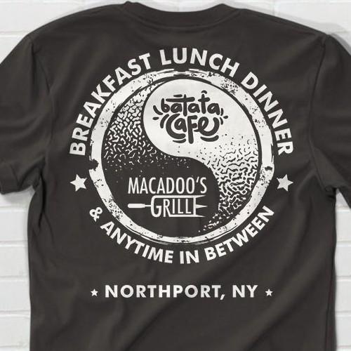 Batata/Macadoo's - Yin Yang T-shirt Design