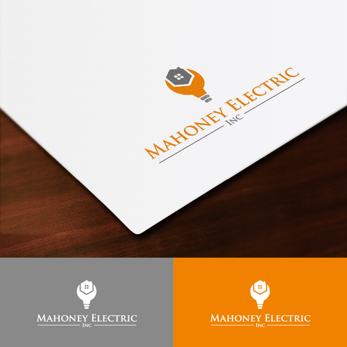 Create a Logo to convey a modern lighting and high Tech electrical contracting company