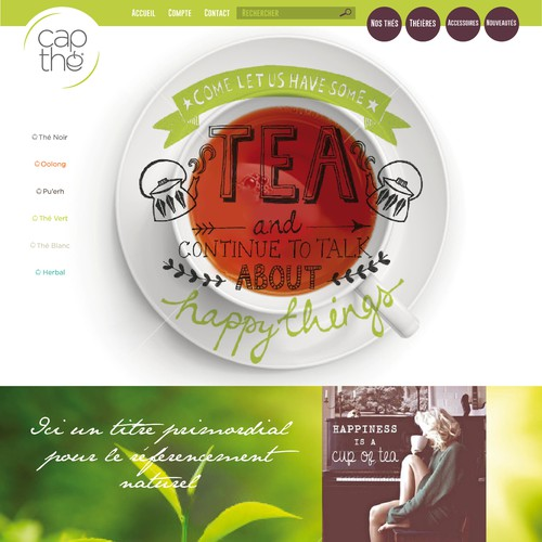HOMEPAGE TEA DESIGN...