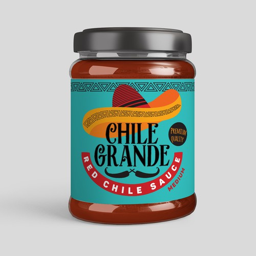 Label for chile sauce