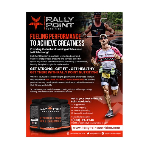 Rally Point Flyer Design