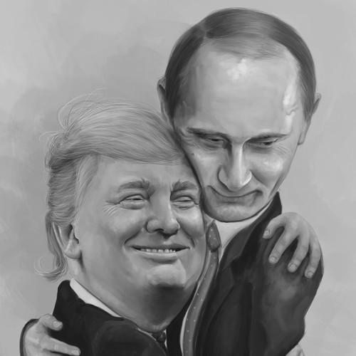 Trump and Putin Bromance