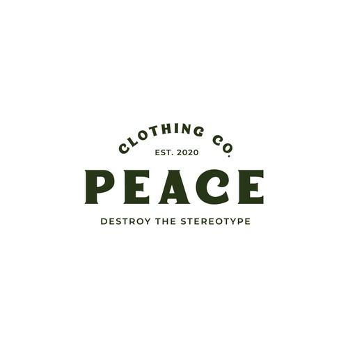Logo concept for Peace