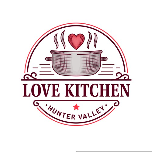 Vintage Logo for a Restaurant Rebranding
