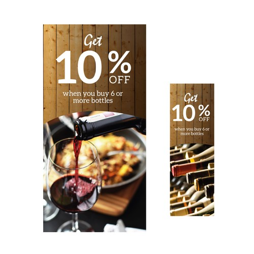 Announcement for Wine discount