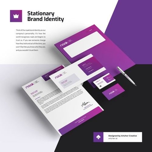 Professional Corporate Stationary