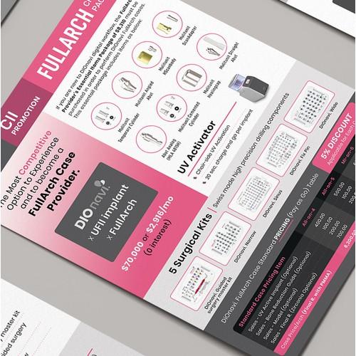 DIOnavi Dental Service Flyer