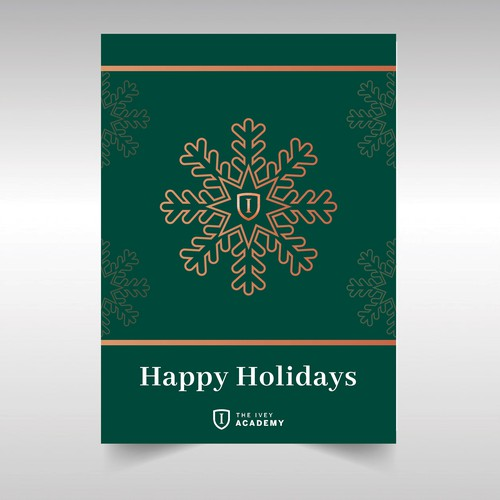 Ivey Academy Holiday Card