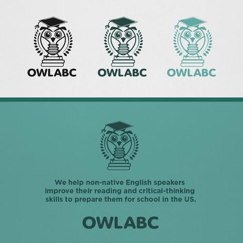 Design cute, modern, owl-themed logo for education company